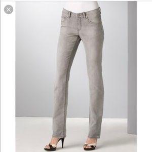 Elie Tahari Womens Adena Straight-Leg Jeans 10